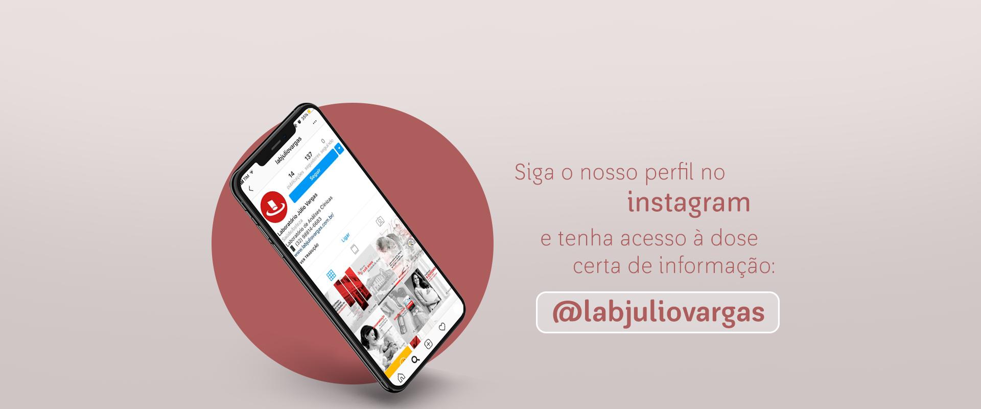 Banner site Instagram